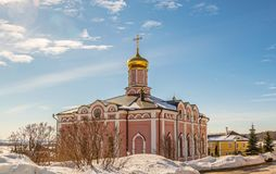 St John Theologian Monastery fotografia stock libera da diritti