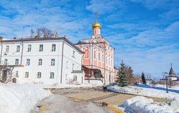 St John Theologian Monastery fotografie stock libere da diritti