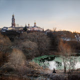 St. John the Theologian monastery near Ruazan, Russia Stock Image
