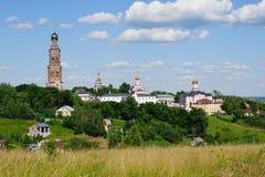 St John the Theologian Monastery in Poschupovo Royalty Free Stock Image