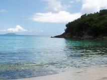St. John van de Baai van de boomstam BVI Stock Afbeelding