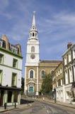 St John Vierkant, Clerkenwell Royalty-vrije Stock Afbeeldingen