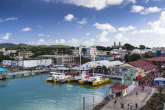 St. John's, Antigua and Barbuda Stock Photo
