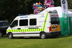A St Johns ambulance. Stock Images