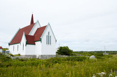St Johns Anglican Church - Peggys Cove - Canada Stock Photography