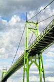 St Johns Bridge Royalty Free Stock Images
