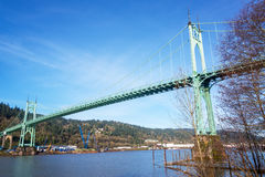 St Johns Bridge Royalty Free Stock Photo