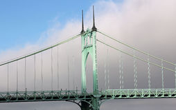 St Johns Bridge Royalty Free Stock Photography