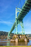 St Johns Bridge Vertical Royalty Free Stock Images