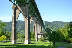 St Johns Bridge Royalty Free Stock Images