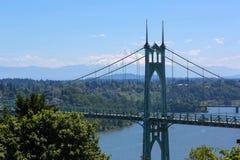 St Johns bro och monteringshuv Royaltyfri Bild