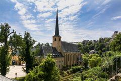 St. Johns Church in Luxembourg Stock Image