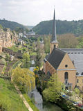St. Johns Church in Luxembourg Stock Photography