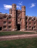 St. Johns College, Cambridge, England. Stock Images