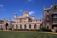 St. Johns College, Cambridge, England. Royalty Free Stock Image