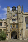 St. Johns College in Cambridge Royalty Free Stock Photography