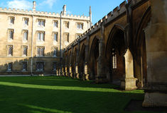 St. Johns College, Cambridge, England, UK Stock Photos