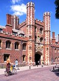 St Johns College, Cambridge. Stock Photos