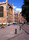 St Johns College, Cambridge. Royalty Free Stock Images