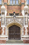 St.Johns College in Cambridge University, England. Entrance in St.Johns College, Cambridge University, England Stock Photo