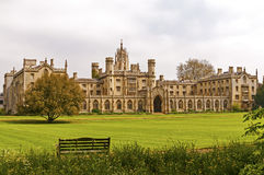 St. Johns college grounds  Royalty Free Stock Image