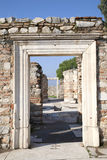 St. Johns de Ruïnes van de Basiliek, Ephesus, Turkije Royalty-vrije Stock Foto's