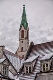 St Johns kościół w Ryskim Latvia obrazy royalty free