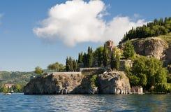 St Johns kyrka, Ohrid Fotografering för Bildbyråer