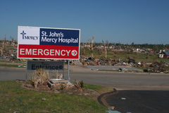 St. Johns needs Mercy Royalty Free Stock Photo