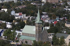 St Johns, Newfoundland, Canada stock afbeelding