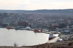 St Johns, Newfoundland, Canada Stock Photography