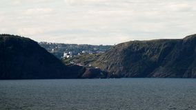 St Johns, NFLD. St John's, Newfoundland, Canada - As seen from Cape Spear Royalty Free Stock Photos