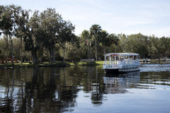 St Johns River in Volusia County Florida USA lizenzfreies stockfoto