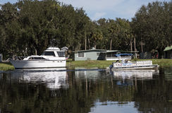 St Johns River in Volusia County Florida USA Stock Image