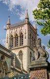 St Johns Universiteit in Cambridge Stock Afbeeldingen