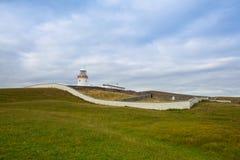 St- Johnspunkt-Leuchtturm, Irland lizenzfreie stockfotos