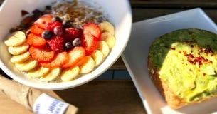 St Jorge Food del café Fotos de archivo
