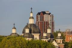 St Josaphat katedra w Edmonton obrazy stock