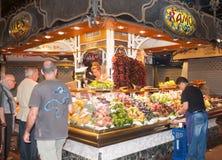 St Josep markt Stock Foto's
