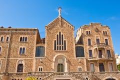 St Joseph av bergkyrkan i Barcelona, Spanien Royaltyfria Foton