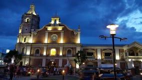 St. Joseph Cathedral, Balanga City Bataan, Philippines. Night: St. Joseph Cathedral, Balanga City Bataan, Philippines stock photo