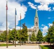 St Joseph Cathedral, Baton Rouge, LA arkivbilder