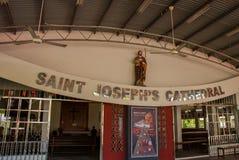 St. Joseph Cathedral. The Central entrance. Miri city, Borneo, Sarawak, Malaysia. St. Joseph Cathedral. The Central entrance Miri city, Borneo, Sarawak Malaysia stock photography