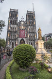 St Joseph Cathedral Hanoi Fotografia de Stock