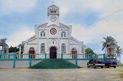 St Joseph Cathedral in Neiafu, Vavau, Tonga Stock Image