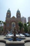 St Joseph Cathedral, Tientsin Immagini Stock Libere da Diritti