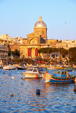 St Joseph church in Kalkara, Malta Stock Image