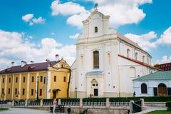 St Joseph Church in Minsk, Wit-Rusland Royalty-vrije Stock Foto