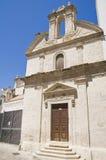 St. Joseph Church. Monopoli. Apulia. Royalty Free Stock Photography