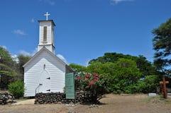 St Joseph Church. One of Father Damien's, on Molokai Stock Image